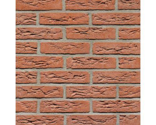 Steenstrip Geba 095 rood handvormwaalformaat.