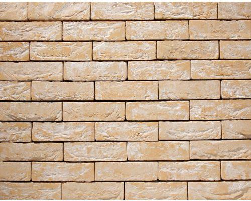 Steenstrip Geba 741geel wit genuanceerd handvorm dikformaat.