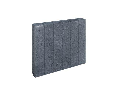 Blokjesband zwart 50x50x8cm