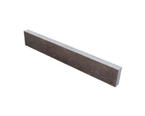 Chinees hardsteen opsluitband gezoet/facet 100x15x5cm.