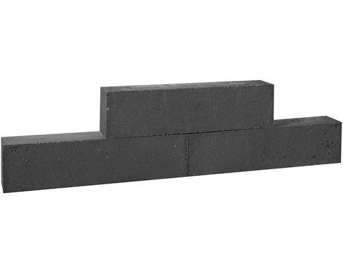 Forto Walling zwart 10x10x60cm.