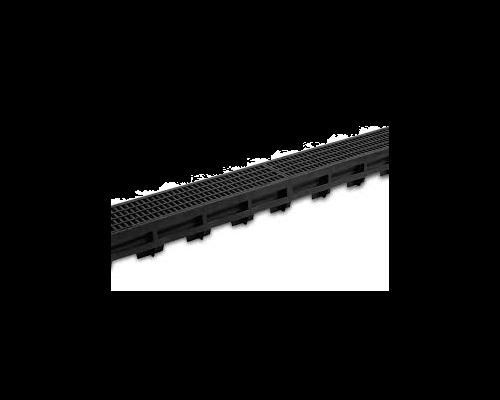 Topgoot zwart kunststof mazenrooster