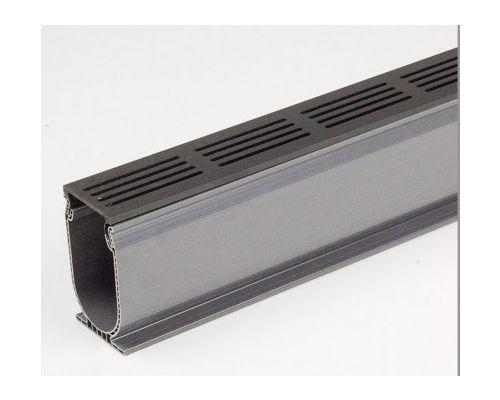 Ultradrain Blackline 100x6x10cm Graphite.