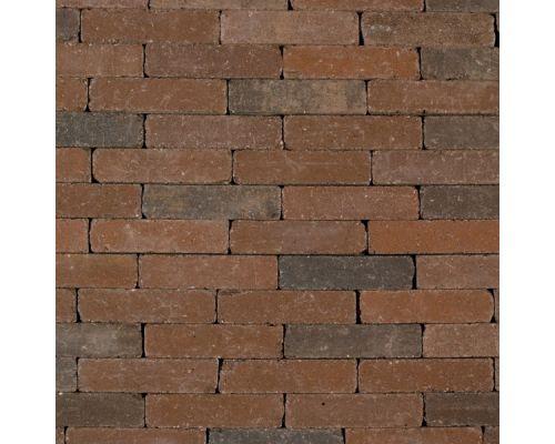 Abbeystone 20x5x7 bruin-antraciet getrommeld waaltje.